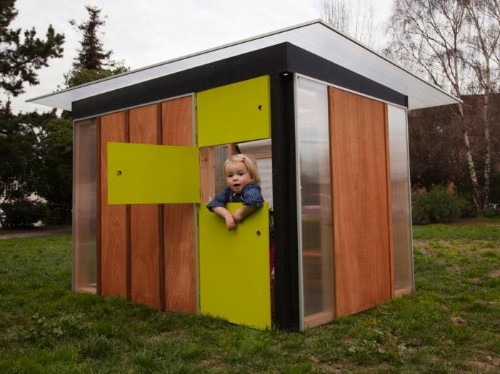 A Playhouse That's Kid Friendly Without Kitsch