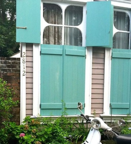 Hardscaping 101: Exterior Wooden Shutters