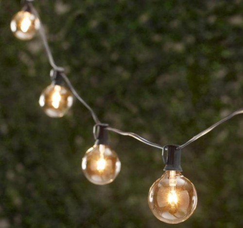 10 Easy Pieces: Cafe-Style Outdoor String Lights