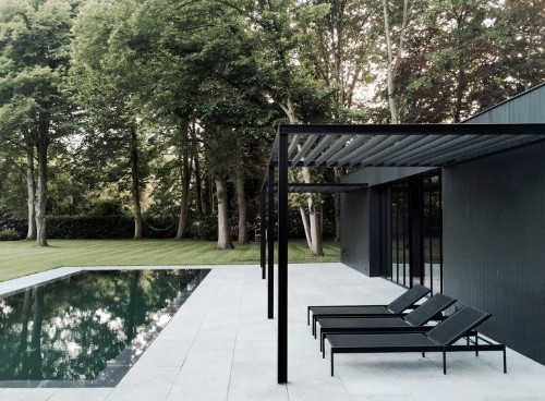 Master Class: A Quietly Luxe Belgian Pool House by Marc Merckx