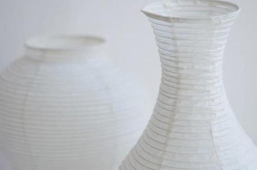 Noguchi-Inspired Vase Covers