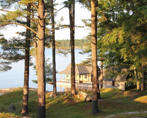 Outbuilding of the Week: A New Boathouse for a Historic Family Camp