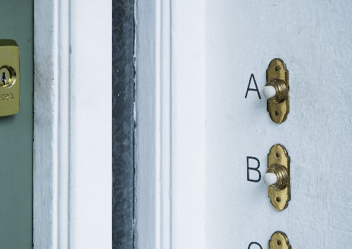 Object of Desire: Doorbell Letters for Modern Victorians