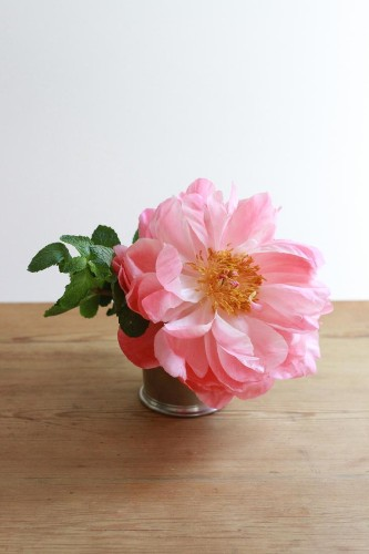 Derby Day Recipe: Take One Julep Cup, Add Mint And…A Peony