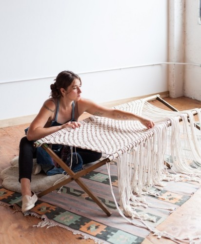 Still Life with Houseplants: Macramé Artist Emily Katz in Portland, Oregon