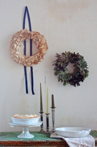 DIY: A Succulent Wreath to Display All Year