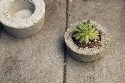 10 Genius Garden Hacks with Poured Concrete - Gardenista