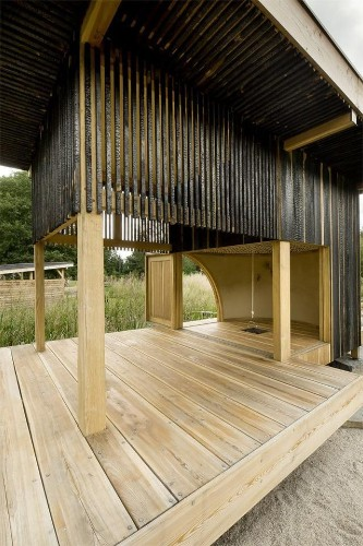 A Teahouse, Charred and Blackened (On Purpose)