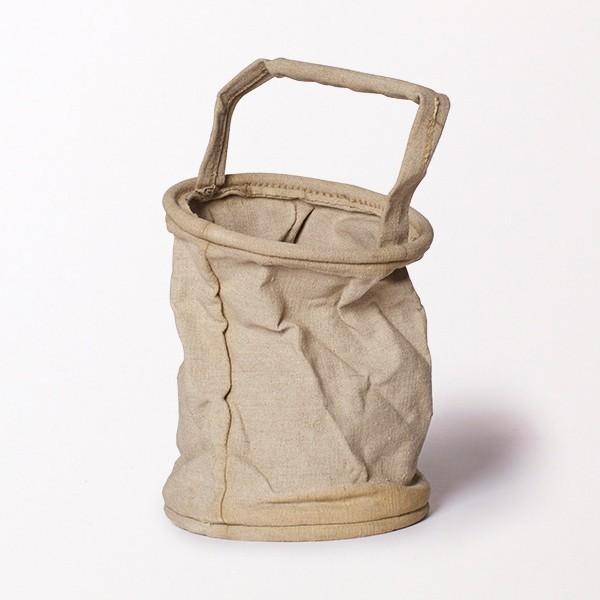 Trend Alert: Collapsing Linen Bucket