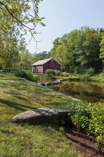 Before & After: A Hudson Valley Landscape, Pond Included