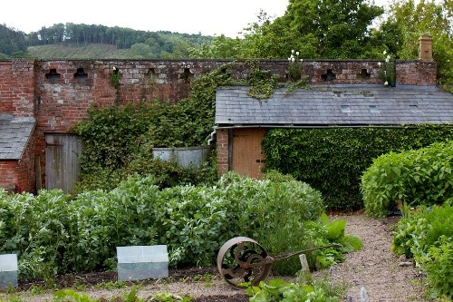 Walled Gardens: An Organic and Picturesque Plot at Old-Lands in Wales