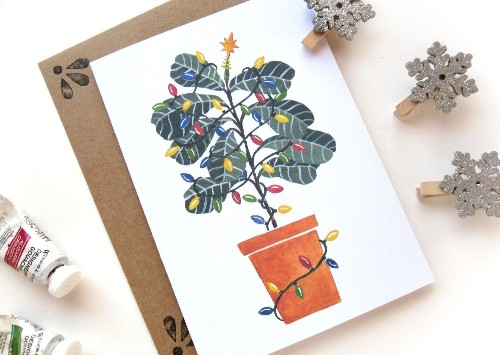 Gift Guide: For the Fiddle-Leaf Fig Tree Lover