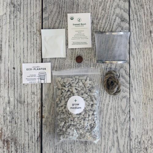 Small Space Gardening: A Kit to Grow Windowsill Herbs