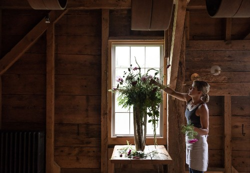 Secrets from the Lost Kitchen: How to Arrange Flowers like a Self-Taught Maine Chef