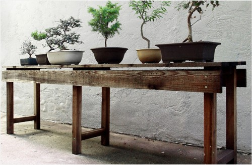 DIY Planting Table from Scout Regalia