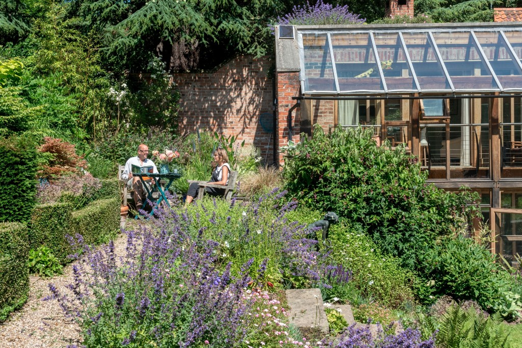 Landscape Architect Visit: Whimsy & Delight in a Walled Multi-Level Garden for a Family of Seven - Gardenista