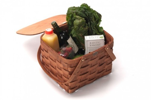 Handsome Bike Baskets for Taking Meals On the Go