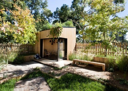 Outbuilding of the Week: An Instant Backyard Room for Work and Play