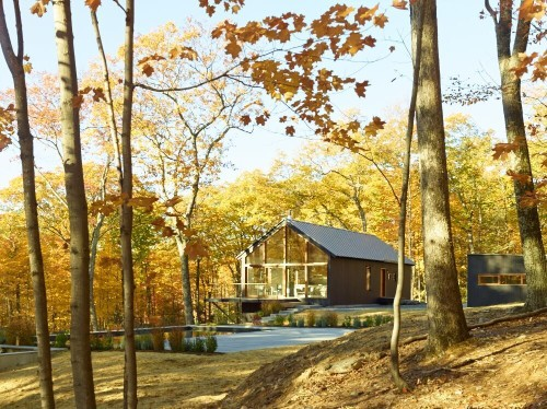 Architect Visit: Into the Woods with Drew Lang in the Hudson Valley