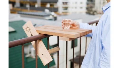 Portable Garden Furniture for a Tiny Balcony