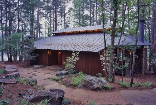Hardscaping 101: Standing Seam Metal Roofs
