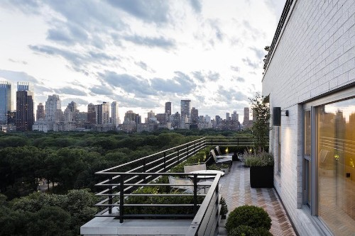Garden Designer Visit: A Manhattan Terrace with Panoramic Central Park Views