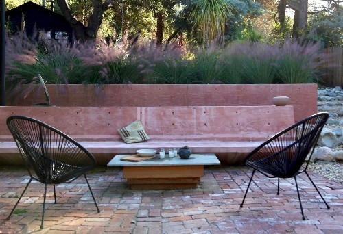 Pretty in Pink: An Artist's Dry Garden in LA's Topanga Canyon