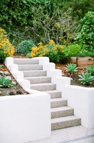 10 Genius Garden Hacks with Poured Concrete