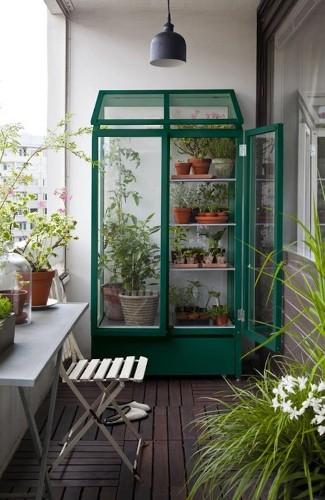 Urban Gardener: A Greenhouse for Your Balcony