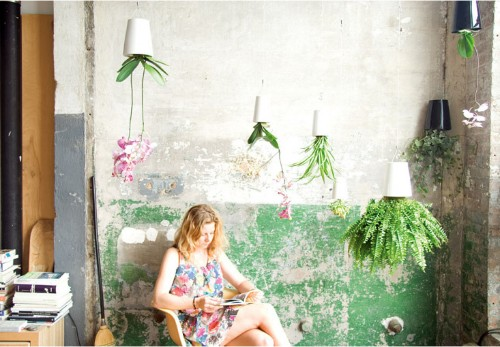 The Hanging Kitchen Garden by Boskke