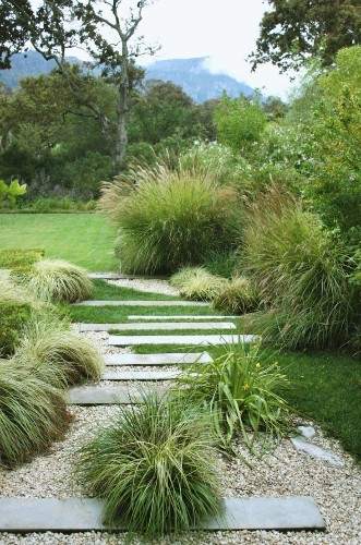 Leaves of Grass: 9 Ways to Create Curb Appeal with Perennial Grasses