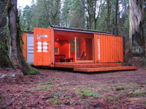 Little Cargo Container in the Big Woods