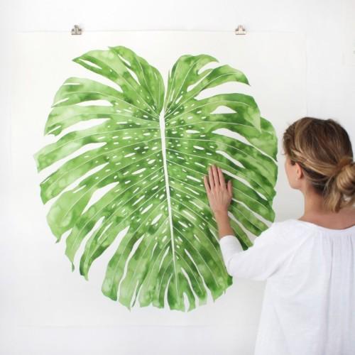 A New Leaf: Artist Jenny Kiker's Botanical Paintings