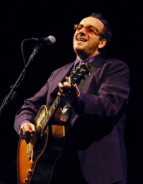 Elvis Costello during Elvis Costello and The Pickups in Concert at...