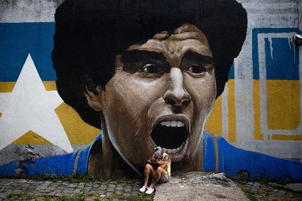 Mourning Maradona