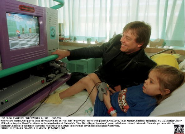 Usa / Los Angeles / December 9, 1998 Actor Mark Hamill, Who Played...