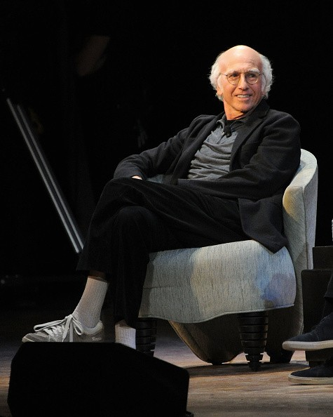 Actor and writer Larry David speaks at Larry David and David...