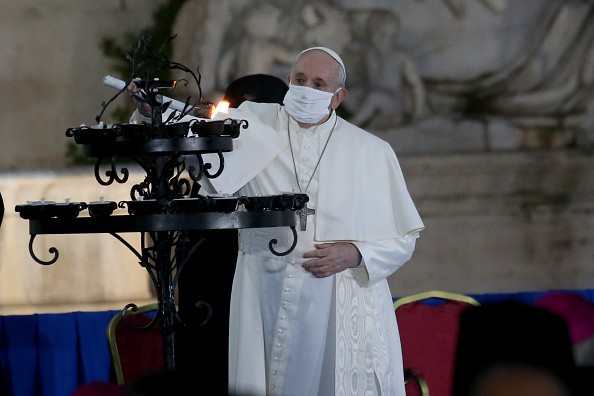 Pope Francis Leads The Prayer For Peace