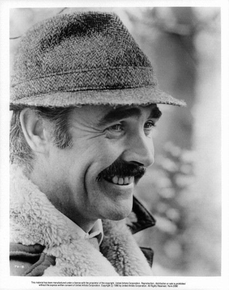 Sean Connery smiling in a scene from the film 'The Offense', 1973.