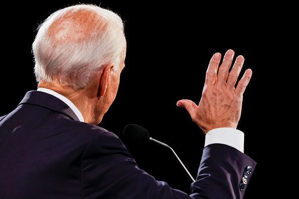 Democratic presidential nominee Joe Biden debates U.S. President...