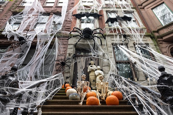 An Upper West Side home is decorated for Halloween