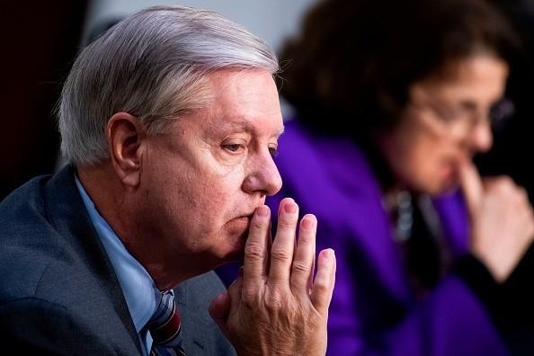 Chairman Lindsey Graham, R-S.C., and ranking member Senator Dianne...