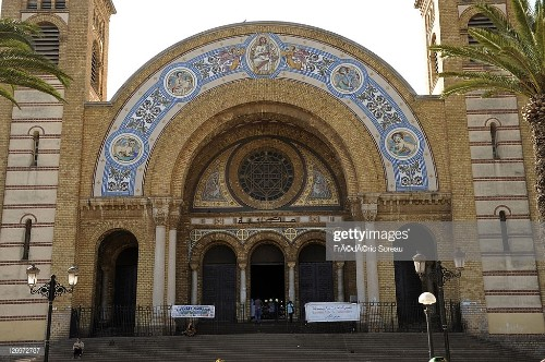 Algeria, Oran cathedral, turned into library since 1980