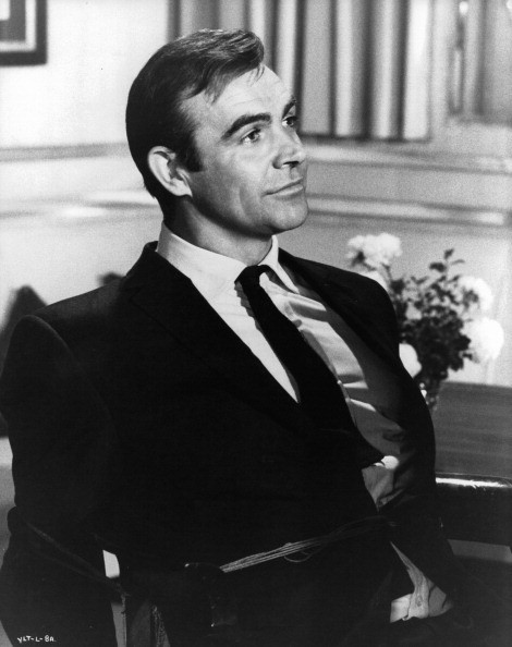 Sean Connery in a scene from the film 'You Only Live Twice'