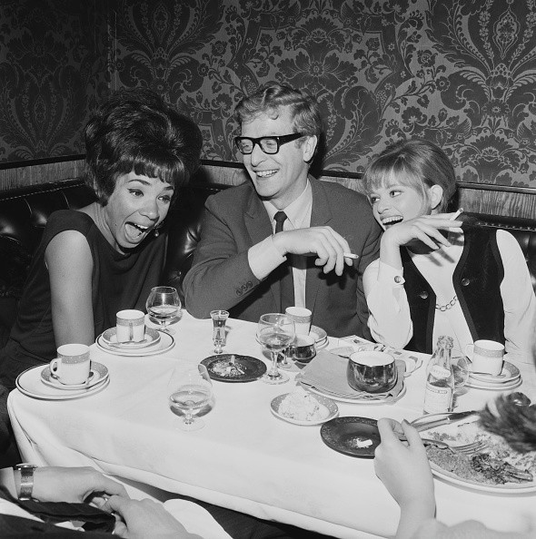 Welsh singer Shirley Bassey, English actor Michael Caine and...