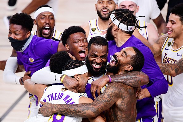 Lakers NBA Championship Victory In Photos