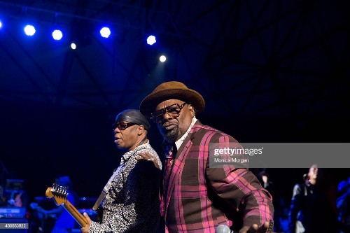 Rick Rouse and George Clinton peform at Chene Park on July 10, 2015...