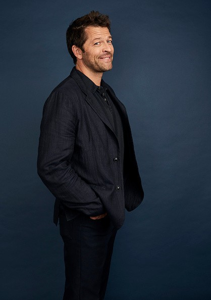 Misha Collins of The CW's 'Supernatural' poses for a portrait during...