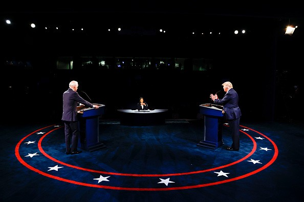 U.S. President Donald Trump and Democratic presidential nominee Joe...