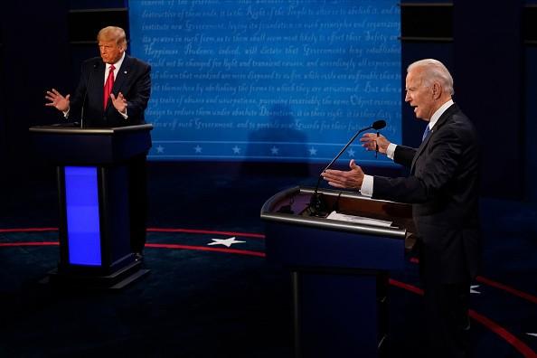 Democratic presidential candidate former Vice President Joe Biden...